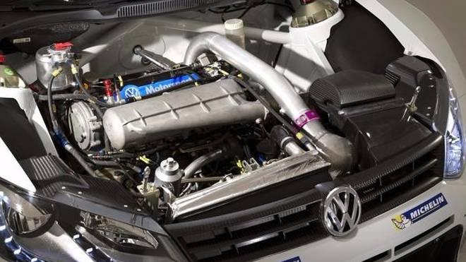 In der Rallye-WM wird mit 1,6-Liter Vierzylindern mit Turboaufladung gefahren