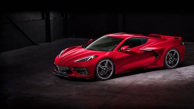 Die neue Corvette mit Mittelmotor