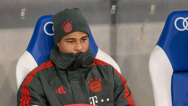 Serge Gnabry saß gegen Hoffenheim zunächst auf der Bank