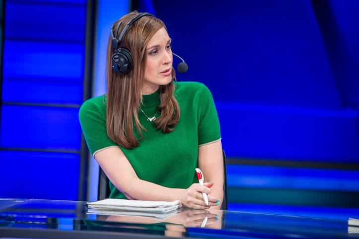 LCS-Moderatorin Sjokz ist seit Gründung der LCS fester Bestandteil der europäischen Übertragung.