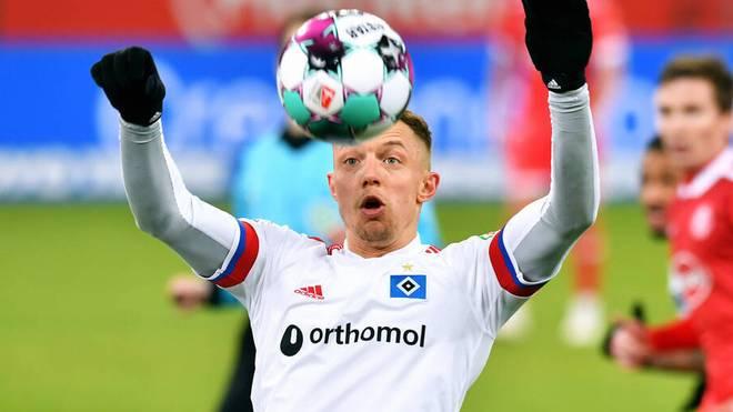 Sonny Kittel erzielte zwei Tore für den HSV
