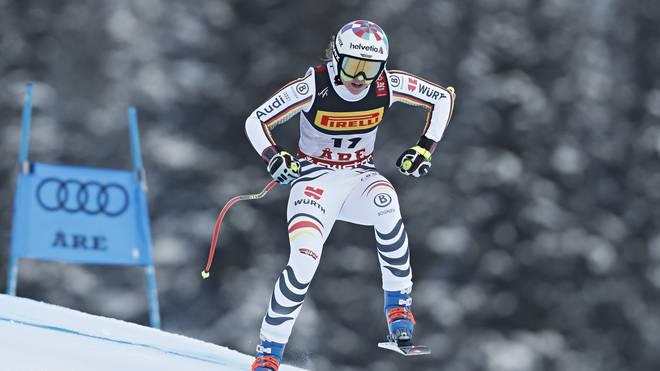 Viktoria Rebensburg ist bei der WM-Abfahrt am Start