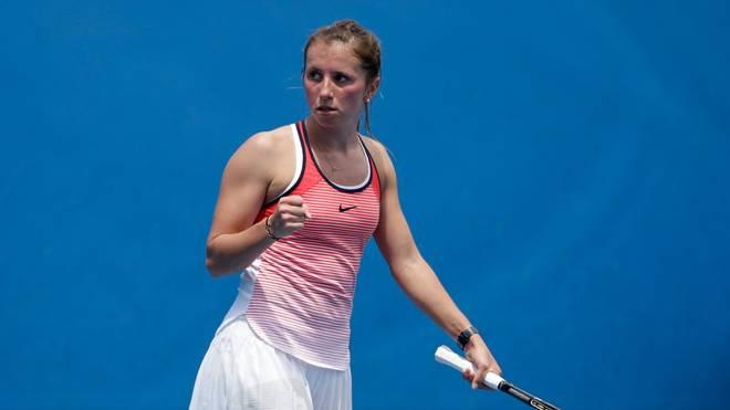Annika Beck bei Australian Open