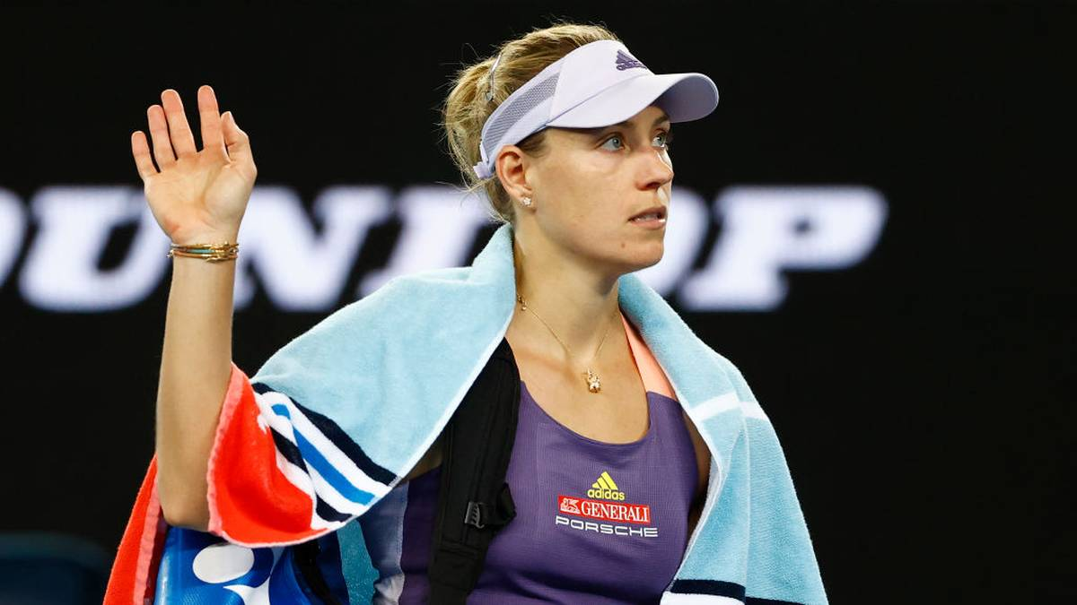 Angelique Kerber verabschiedete sich bei den Australian Open nach dem Achtelfinale