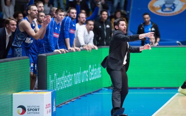 Trainer Sebastian Gleim würde Proteste seiner Spieler gutheißen
