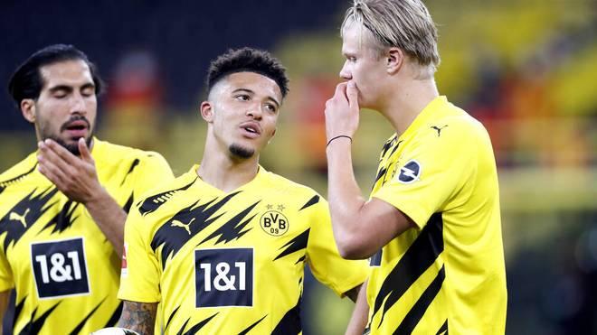 Jadon Sancho hat bei Borussia Dortmund noch einen Vertrag bis 2023