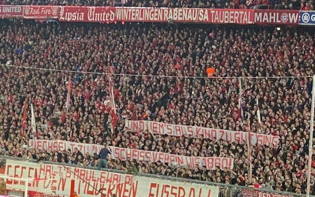 Die Bayern-Fans kontern die Aussagen von Ewald Lienen