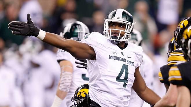 Big Ten Championship Malik McDowell spielte am College für die Michigan State Spartans und wurde von den Seattle Seahawks im Draft 2017 ausgewählt