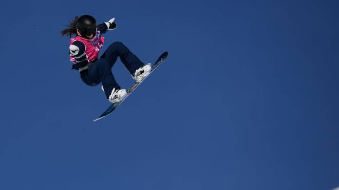 Snowboarderin Annika Morgan hat dem deutschen Team am letzten Wettkampftag der 3. Olympischen Jugend-Winterspiele in der Schweiz ein letztes Edelmetall beschert