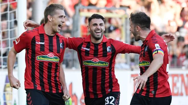 Der SC Freiburg will auch gegen Eintracht Frankfurt jubeln