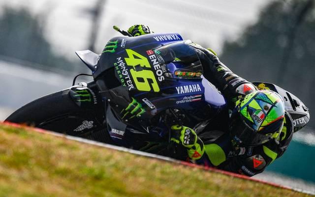 Valentino Rossi fühlt sich auf der Strecke wohler als mit der Play Station