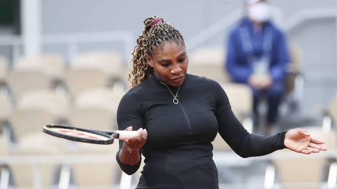 Serena Williams ist aus den French Open ausgestiegen