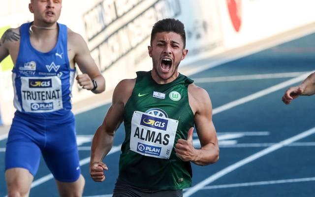 Deniz Almas gewann mit einer starken Zeit