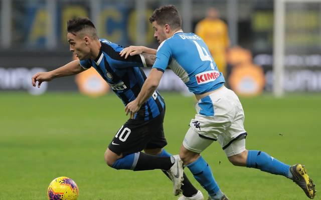 Diego Demme (r.) gewann mit dem SSC Neapel in Mailand