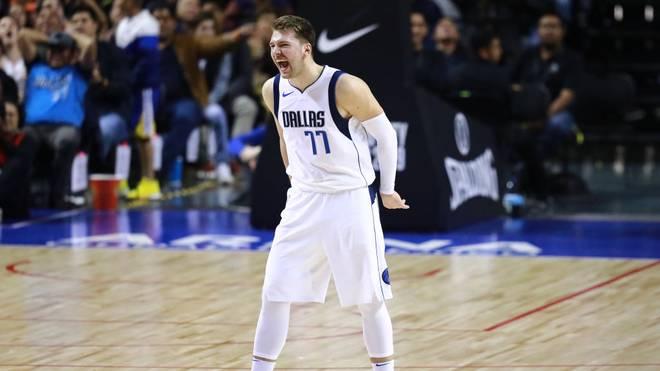Luka Doncic hat mit den Dallas Mavericks gegen OKC verloren