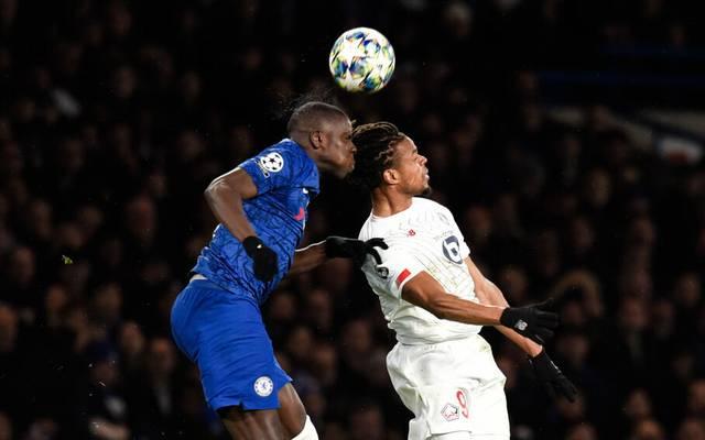 Kurt Zouma vom FC Chelsea hat die beste Quote in defensive Kopfballduellen in Europa