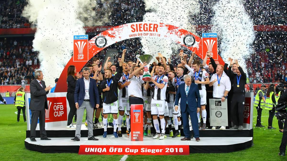 Graz feiert Pokalsieg - Salzburg geht leer aus