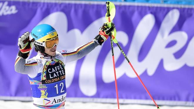 SKI-ALPINE-WORLD-MEN-AND-SLALOM Felix Neureuther verabschiedet sich mit seiner besten Saisonleistung vom Ski-Weltcup