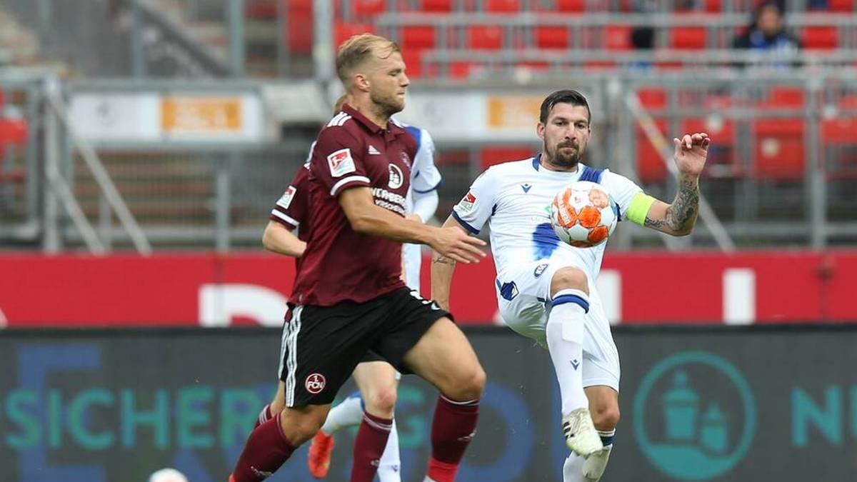 Nürnberg bleibt ungeschlagen - Aufsteiger feiert ersten Sieg