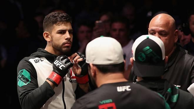 Yair Rodriguez traf seinen Gegner im Auge