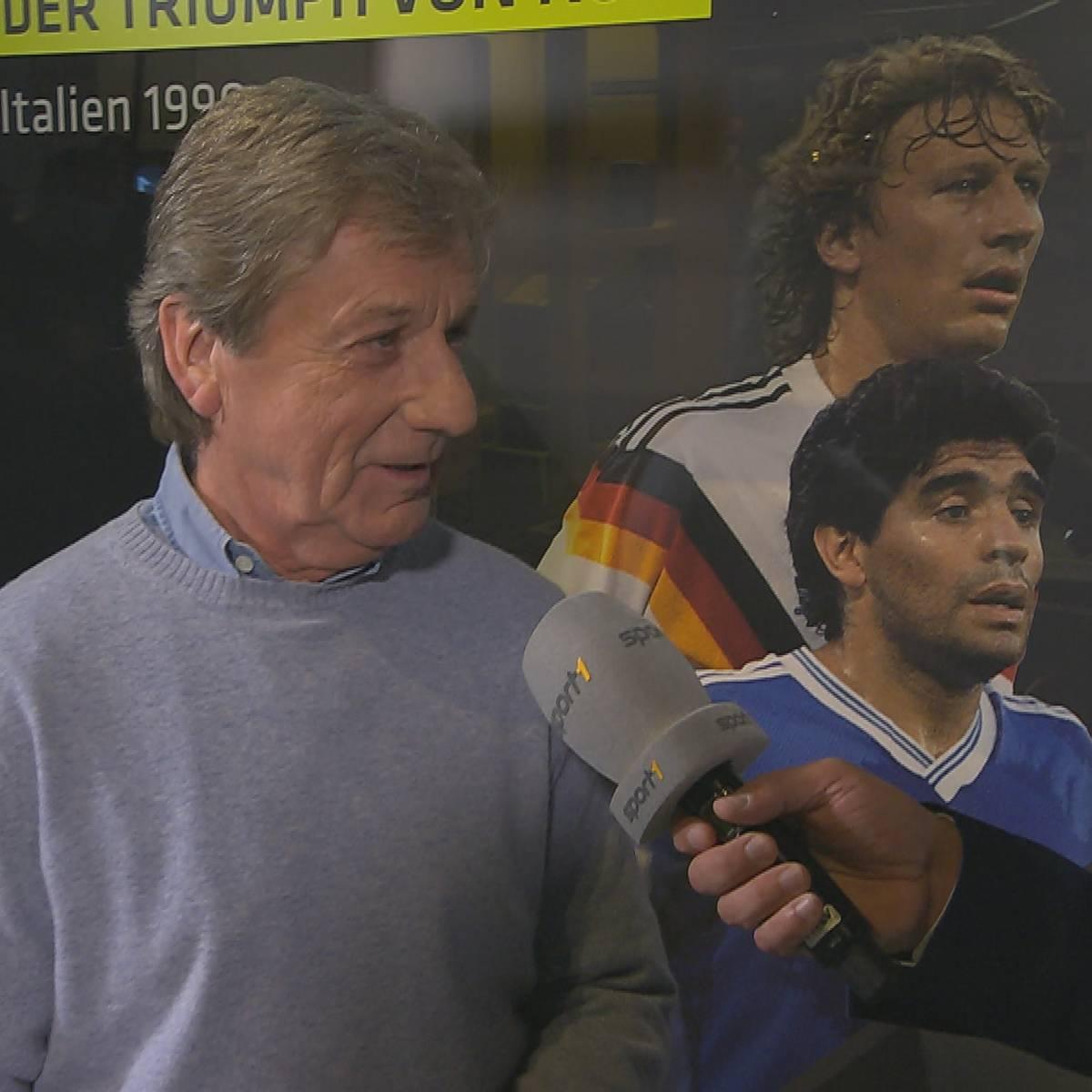 """1990er-Weltmeister: Wie Matthäus das """"falsche"""" Maradona-Trikot bekam"""