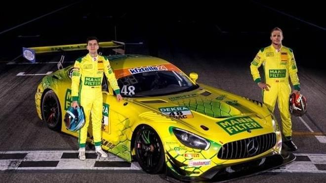 """Favoritenschreck im GT-Masters? Fabian Vettel, Philip Ellis und die """"Mamba"""""""