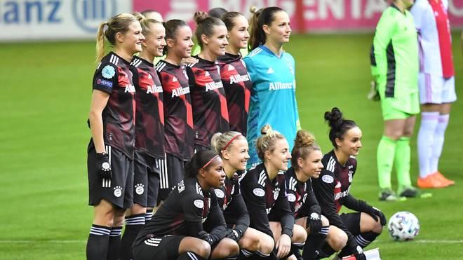 Die Frauenmannschaft des FC Bayern gibt es live auf SPORT1 zu sehen