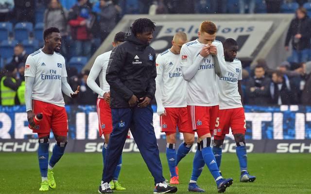 Der Hamburger SV kassierte bei Armina Bielefeld eine Niederlage