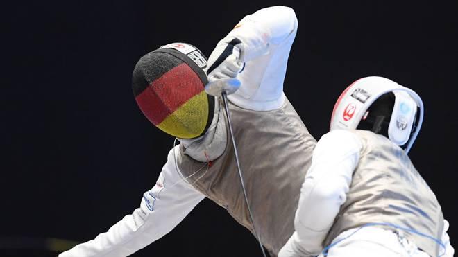 Die deutschen Florett-Herren haben das Ticket für Olympia 2020 gelöst