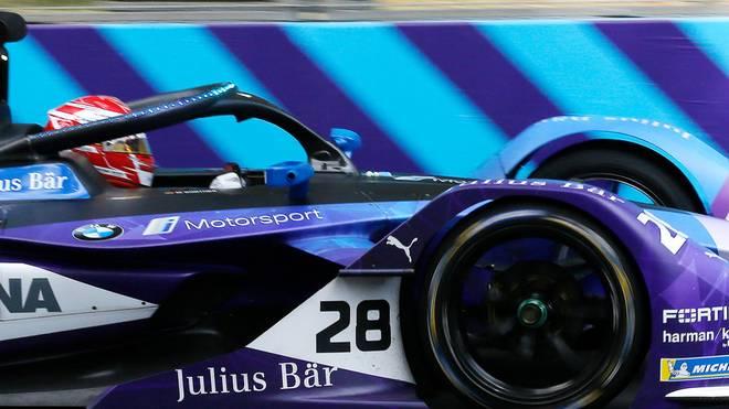 Maximilian Günther fährt für das Team BMW i Andretti Motorsport