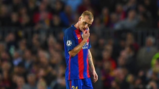 FC Barcelona Jeremy Mathieu Sporting Lissabon