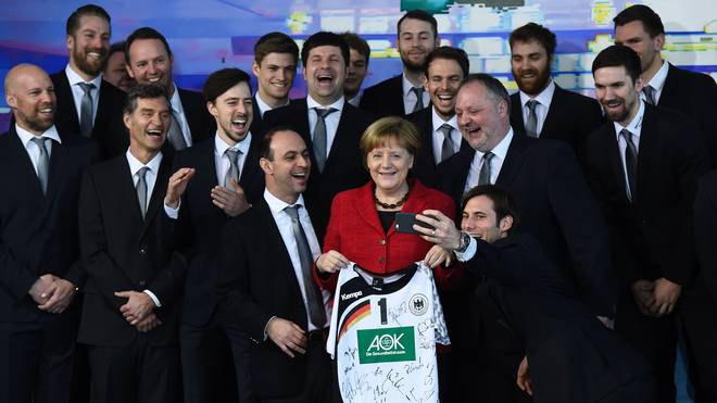 GERMANY-HANDBALL-POLITICS