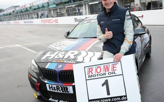 Michael Schrey (Bonk Motorsport) gewann nach 2016 auch 2017 den VLN-Titel
