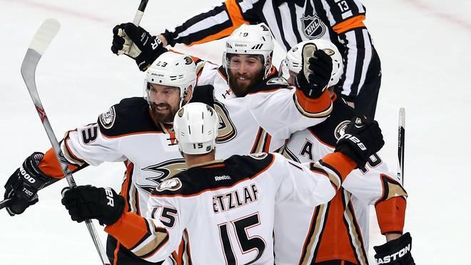 Die Ducks gewannen in Chicago