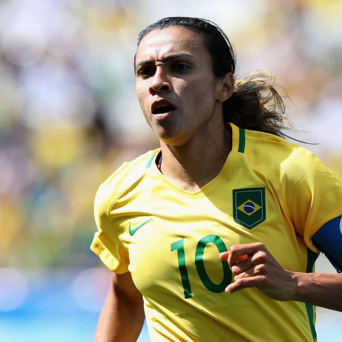 Brasiliens Fussball Ikone Marta Erhalt Schwedische