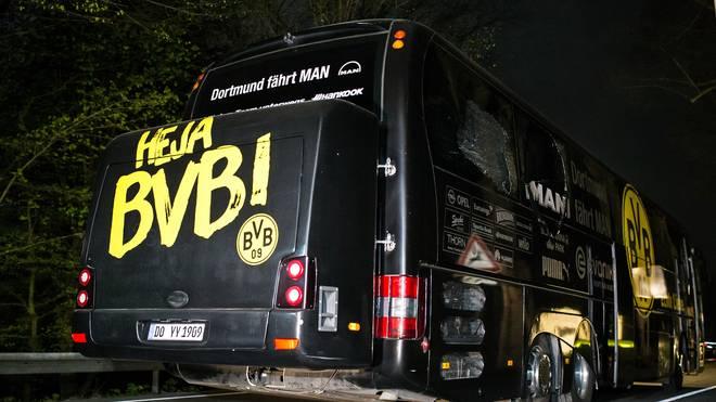 Neben dem Mannschaftsbus der BVB explodierten im April drei Sprengsätze
