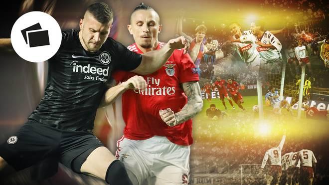 Ante Rebic (l.) und Co. hoffen auf eine Überraschung in der Europa League