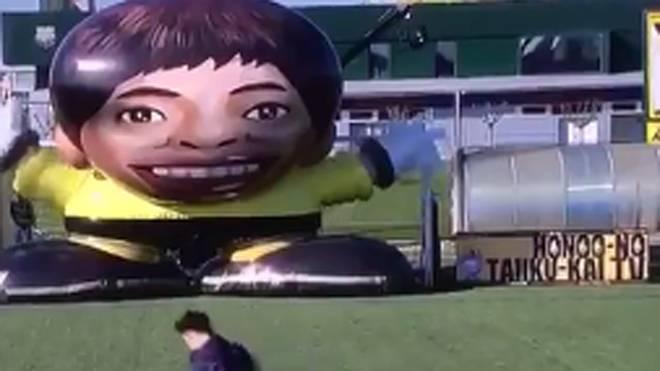Lionel Messi zauberte in einer japanischen TV-Show