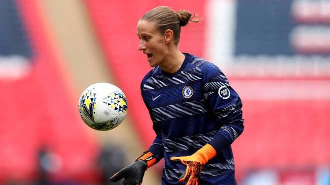 Ann-Katrin Berger steht beim FC Chelsea unter Vertrag