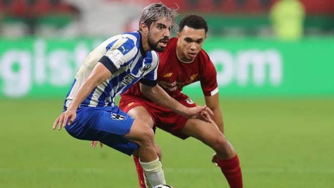 Rodolfo Pizarro scheiterte mit Monterrey bei der Klub-WM an Liverpool