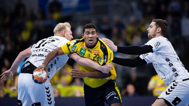 Mads Mensah Larssen wurde mit Dänemark 2019 Weltmeister