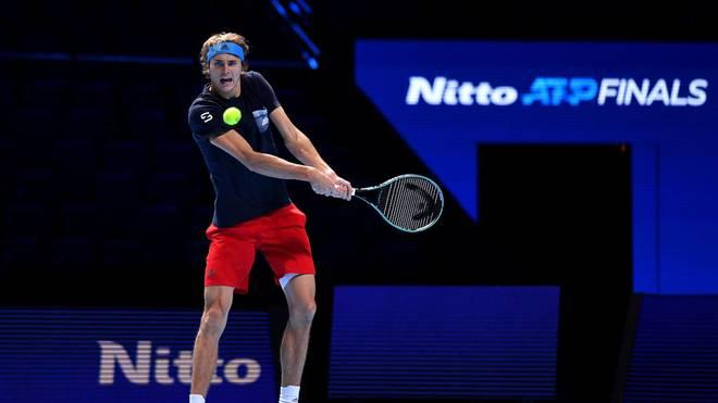 Alexander Zverev verteidigt bei den ATP Finals seinen Titel