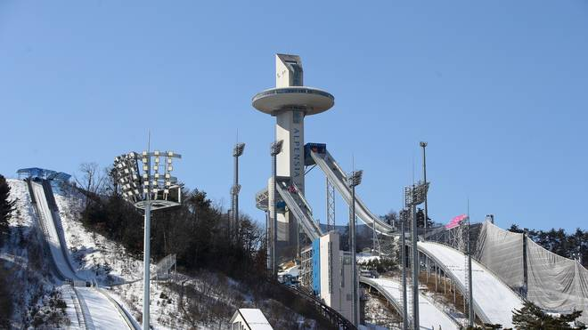 Das Alpensia Ski Jumping Centre