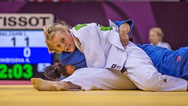 Luise Malzahn gewann bei der Judo-EM zwei Bronze-Medaillen