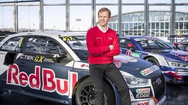 Mattias Ekström möchte auch bei seinen Kindern auf der Pole-Position stehen