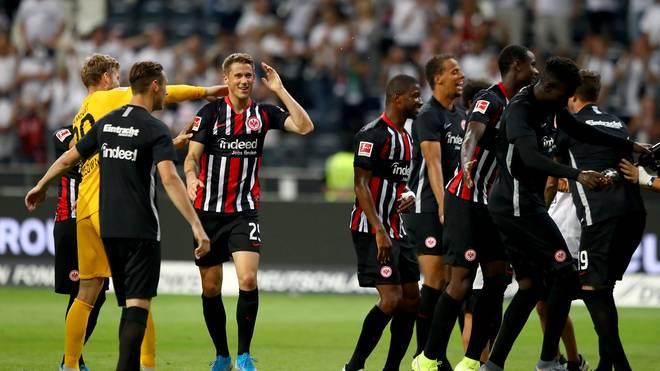 Eintracht Frankfurt ist bei der Qualifikation zur Europa League gefordert
