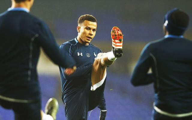 Dele Alli liegt mit Tottenham auf Rang zwei