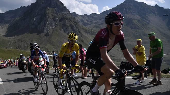 Bei der Tour de France geht es auch heute wieder durch die Pyrenäen