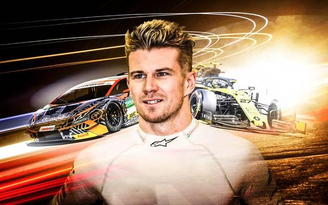 Nico Hülkenberg fuhr zuletzt für Renault in der Formel 1, nun steigt er in GT-Masters-Cockpit