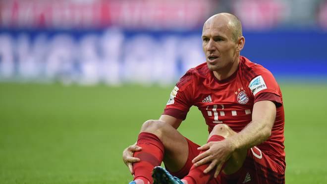 FC Bayern: Bei Arjen Robben schwindet Hoffnung auf Comeback, Arjen Robben fehlt dem FC Bayern wegen diverser Verletzungen bereits seit November